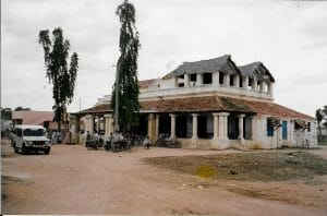 Ida's bungalow in Tindi 1993