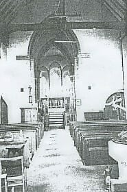 INTERIOR OF THE HORTON KIRBY PARISH CHURCH