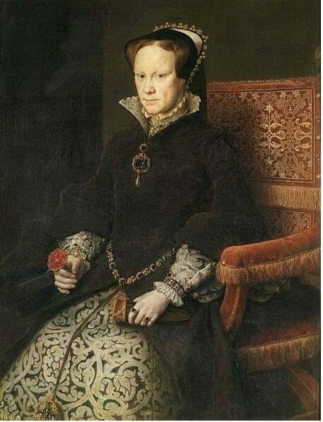 Queen Mary I, 1553–1558