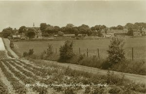 image of a 'Postcard of Horton Kirby, date unknown'