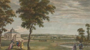 landscape of North Cray Place, 1818