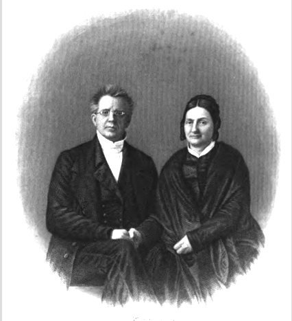 """The Missionary Scudder Family, 1819–1970,"" the progenitors Dr.  John and Harriet Waterbury Scudder"