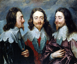 Charles I (1600–49), In Three Views, by Anthony Van Dyck
