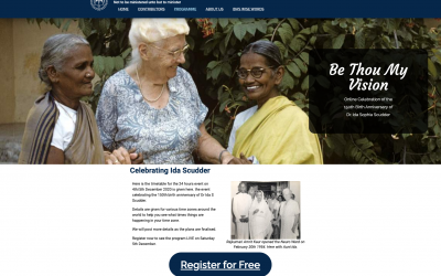 Join in an Around the World Celebration of Dr. Ida Scudder's 150th Birthday